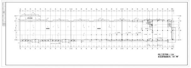 某商场给排水设计施工CAD图纸-图二