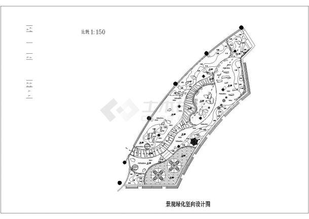 上海某会所屋顶花园景观绿化规划设计cad全套施工图(含设计说明及预算书)-图一
