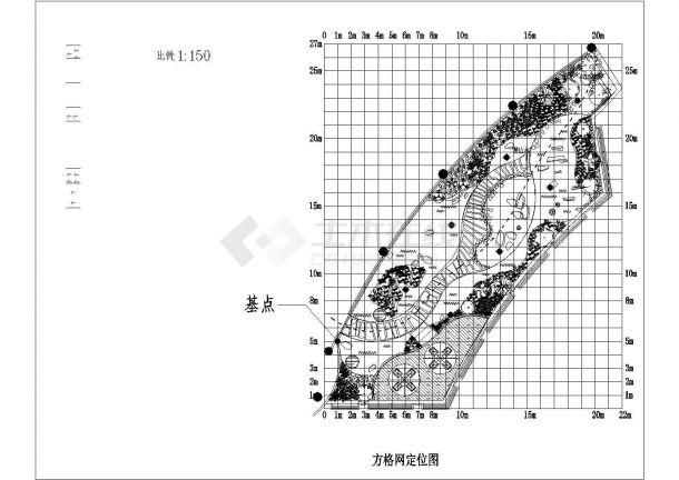 上海某会所屋顶花园景观绿化规划设计cad全套施工图(含设计说明及预算书)-图二