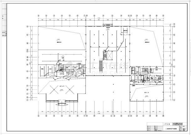 某汽车4S店照明设计施工CAD图纸-图一