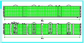 学生公寓建筑方案cad设计图-图一