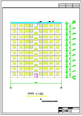 【10层】某花园钢结构cad住宅楼设计(含计算书、建筑图、结构设计图、施工图等)-图二