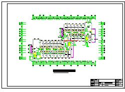 8层 10400平米框架宿舍楼cad毕业设计(计算书、建筑、结构图)-图二