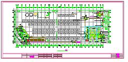 [上海]某购物中心商场大楼空调设计cad平面施工全图-图一