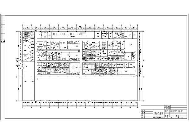 年间某医药公司净化药厂全套供水及消防设计cad图纸-图二