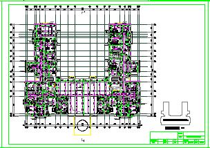 某会所cad给排水设计图纸-图二
