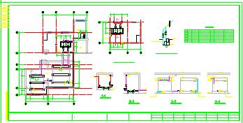 普通住宅楼给排水全套施工cad设计图-图一