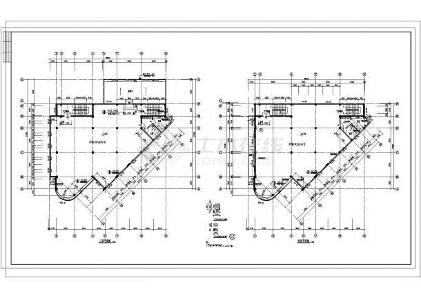 某桂花花园小区设计CAD建筑设计完整方案图-图一