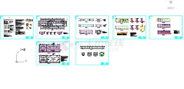 五套泵房常用cad大样图纸施工图纸-图一