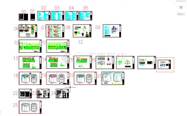 五套泵房常用cad大样图纸施工图纸-图二