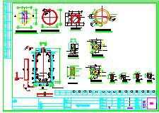 [重庆]污水管网给排水结构cad施工图-图一