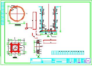 [重庆]污水管网给排水结构cad施工图-图二