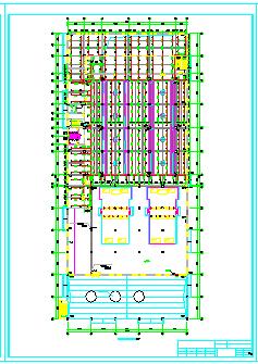 厂房车间给排水及消防施工cad图纸(雨水系统)-图一