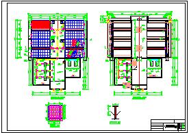 [湖南]5万吨净水厂给排水工艺全套cad设计图(附170页计算说明)-图二