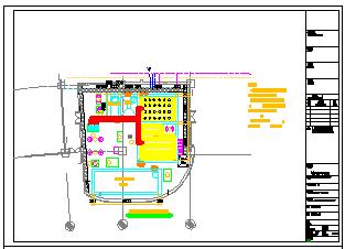 [上海]中水处理站建筑给排水cad设计图-图二