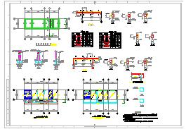 某礦井水回用及生活污水處理cad工程圖-圖一