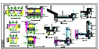 长74.02米 宽10.44米 六层跃七层三单元对称户型建筑设计施工图-图二
