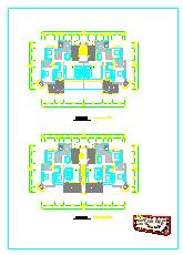 东江明珠花园西区某别墅建筑设计施工图-图二