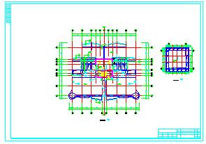 高层单身公寓楼cad建筑设计施工图-图二