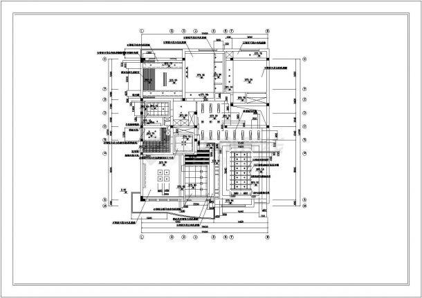 某地区别墅建筑装饰方案设计施工CAD图纸-图一