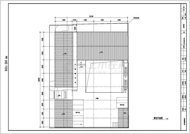 100-北京古典民居建筑方案图(平房)【含设计施工图】-图一