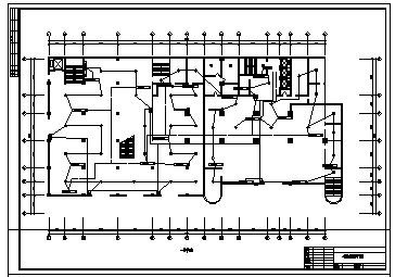 某二十一层带地下室酒店电气施工cad图(含火灾自动报警系统设计)-图一