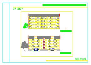 某农村别墅建筑设计CAD施工全套图-图一