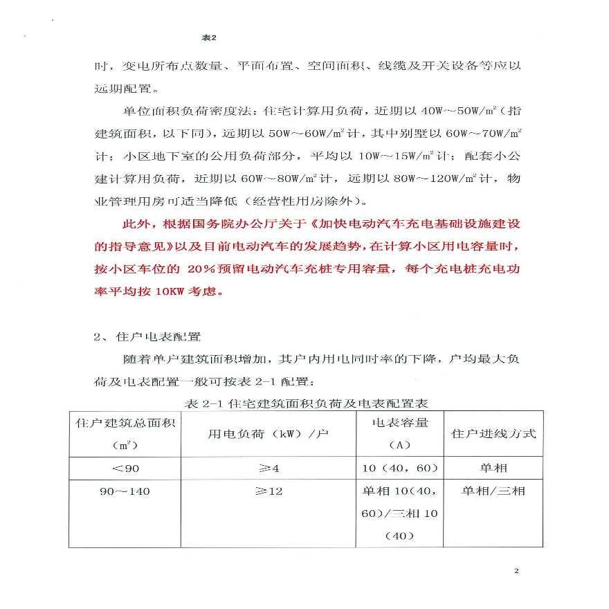 杭州供电公司新建住宅小区设计规定-图二