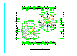 520种方案-住宅套房户型CAD平面图-图一