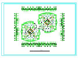 520种方案-住宅套房户型CAD平面图-图二