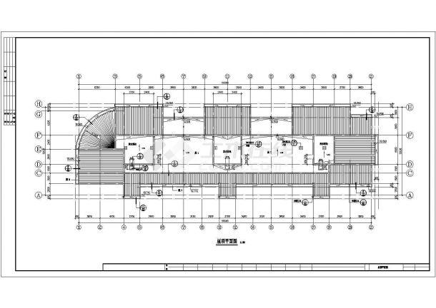郑州某小区4620平5层砖混结构住宅楼建筑设计CAD图纸(含跃层和夹层)-图一