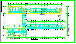 某中学某中学教学楼全套电气cad设计施工图纸-图二
