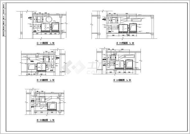 多层高层商业建筑采暖通风排烟系统设计施工图(含幼儿园设计 车库设计)-图二