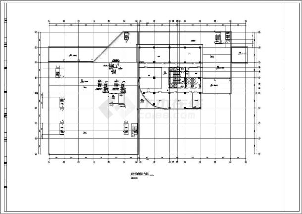 某商业综合体空调通风及防排烟系统设计cad全套施工图( 含设计说明)-图一
