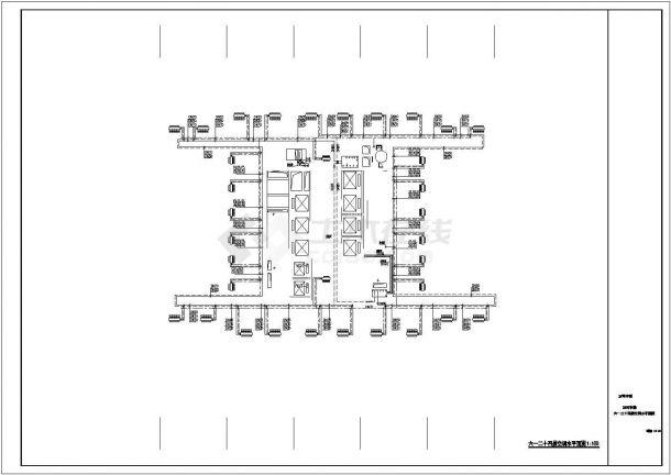 某大型商业综合体暖通空调全套系统(动力系统 机房)设计cad全套施工图(含设计说明,含写字楼、酒店等设计)-图二