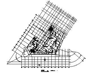 某七层住宅楼电气施工cad图(含火灾自动报警系统设计图)-图一