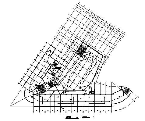 某七层住宅楼电气施工cad图(含火灾自动报警系统设计图)-图二