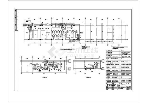 某大型连锁超市空调通风及防排烟系统(VRV系统、 VAV系统)设计cad全套施工图(含设计说明)-图二