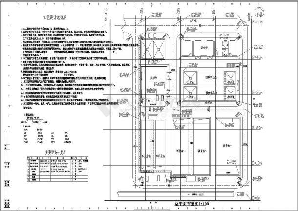 某礦井水工業水回用及生活污水處理工程圖紙-圖二