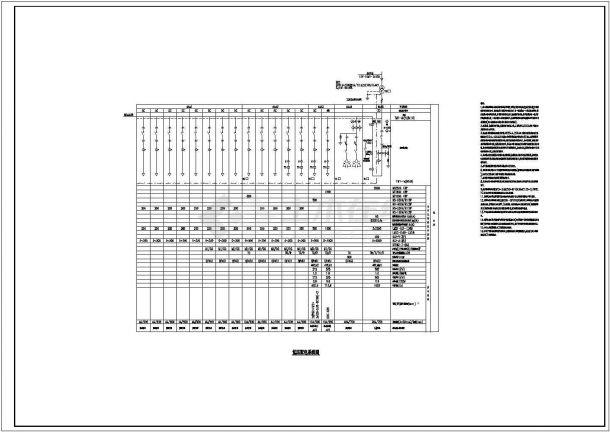 漏电报警建筑设计施工图-图二