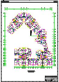 17层住宅楼全套电气cad设计施工图-图二
