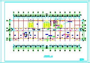 四层办公楼建筑cad全套设计施工图纸-图一