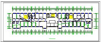医院内部全套电气cad设计施工图纸-图一