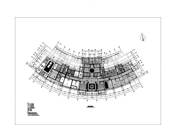 【上海】某社区大型医院住宅楼全套装修施工设计cad图(含建筑装修设计说明)-图二