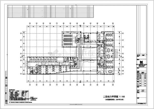 西安市某大学5层行政办公综合楼强弱电系统全套设计CAD图纸-图二