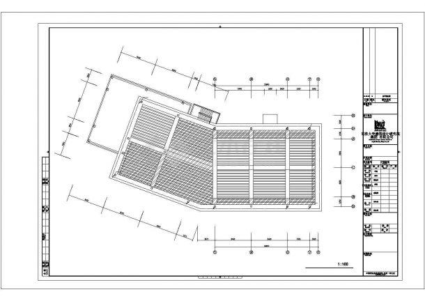 南昌市某新建居住区的3层框架结构售楼处强弱电系统设计CAD图纸-图二