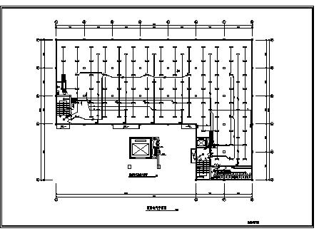 某五层制衣有限公司综合楼电气施工cad图(含照明设计)-图一