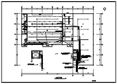 某五层制衣有限公司综合楼电气施工cad图(含照明设计)-图二