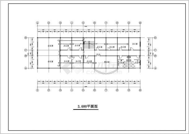 【杭州】某地精品园林景观奇特施工设计cad图纸-图一