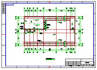 框架型11层办公楼全套施工cad建筑图纸-图二